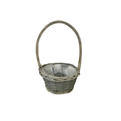 ROUND TURNBERRY BASKET WITH OVERHANDLE