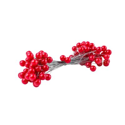 PLASTIC WIRED BERRIES