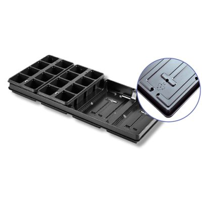NORMSET 5000 SYSTEM 560 x 250 x 44mm Carry Tray with Base