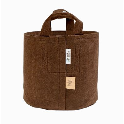 ROOT POUCH BROWN NON-DEGRADABLE CONTAINER W/HANDLE