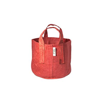 ROOT POUCH RED NON-DEGRADABLE CONTAINER W/HANDLE