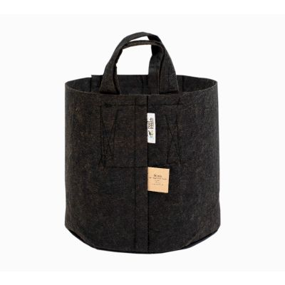 ROOT POUCH BLACK NATURAL FIBRE CONTAINER W/HANDLE