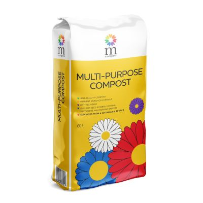 MULTIPURPOSE 60L COMPOST - MOORGREEN